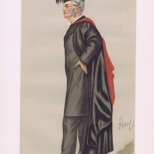 Reverend Henry Arthur Morgan Vanity Fair Print