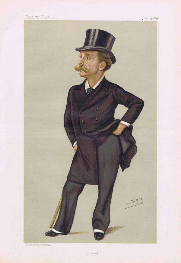 Thomas Gibson Bowles Vanity Fair Print