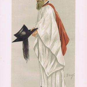 Reverend Henry Montague Butler Vanity Fair Print