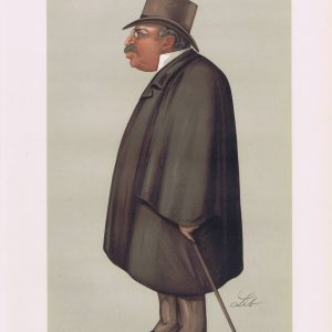 John Corlett Original Vanity Fair Print