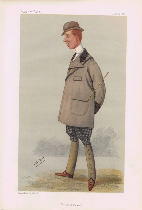 Viscount Dangan Vanity Fair Print