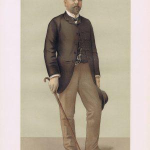 Gustave Eiffel Vanity Fair Print