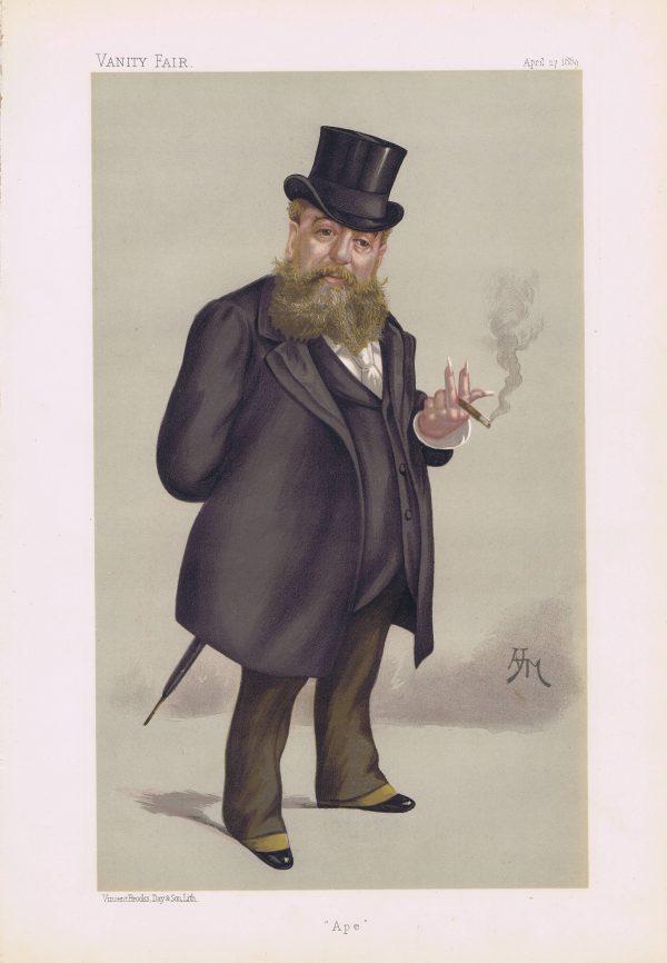 Carlo Pellegrini Vanity Fair Print