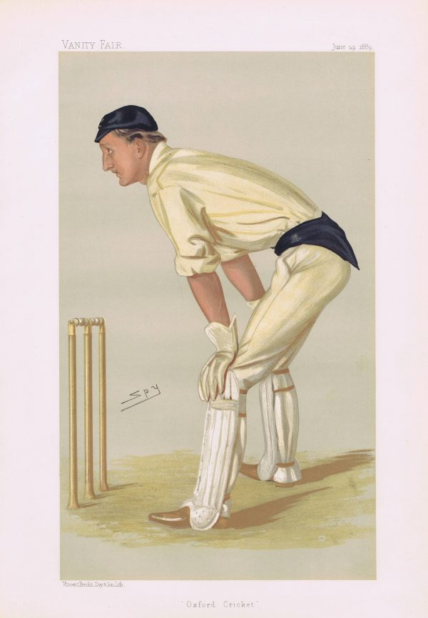 Hylton Philipson Vanity Fair Cricketer Print