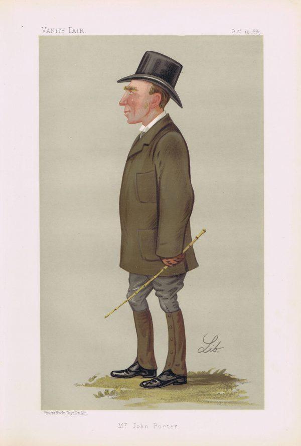 John Porter Original Vanity Fair Print