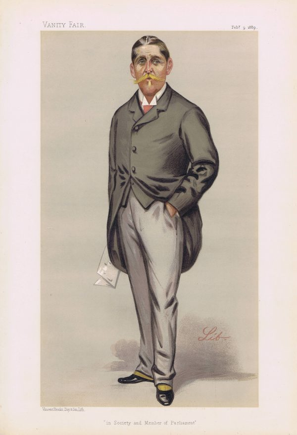 William Cuthbert Quilter Vanity Fair Print