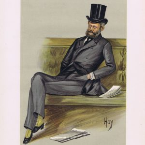 Baron Ferdinand James De Rothschild Vanity Fair Print