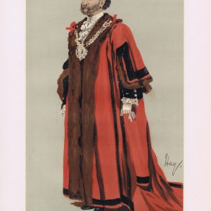 James Whitehead Vanity Fair Print 1889