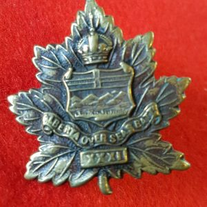 31st Battalion Alberta Regiment