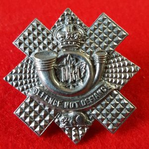 Canadian Highland Light Infantry Collar Badge
