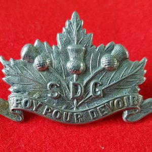 SDG Collar Badge