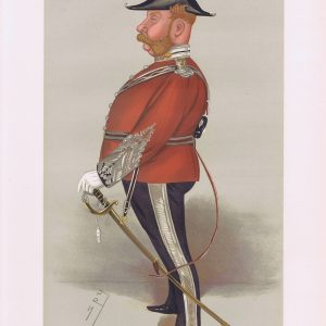 Colonel John Thomas North Vanity Fair Print
