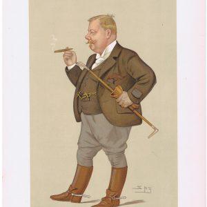 Edward Linley Sambourne Vanity Fair Print