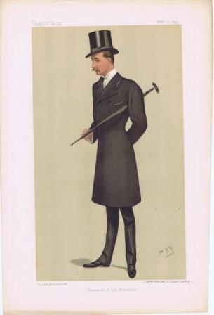 Lord Walter Charles Gordon-Lennox Vanity Fair Print 1892