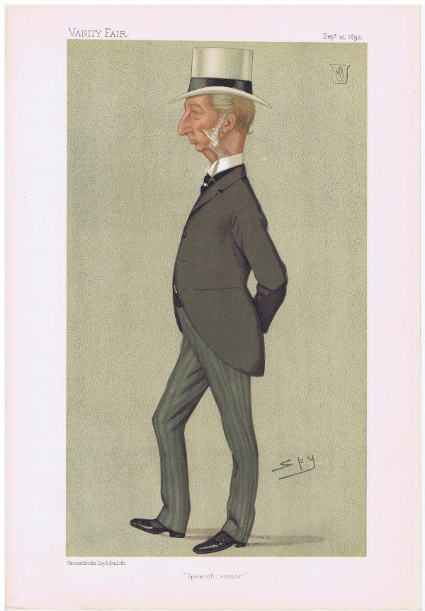Sir Charles Dalrymple Original Vanity Fair Print 1892