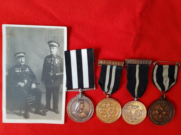 Railway and Order of St John Ambulance Medal Group