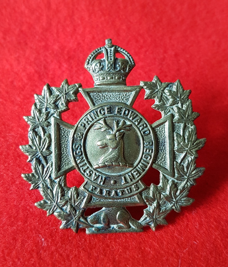 Canadian Army Hastings and Prince Edward Regiment Badge
