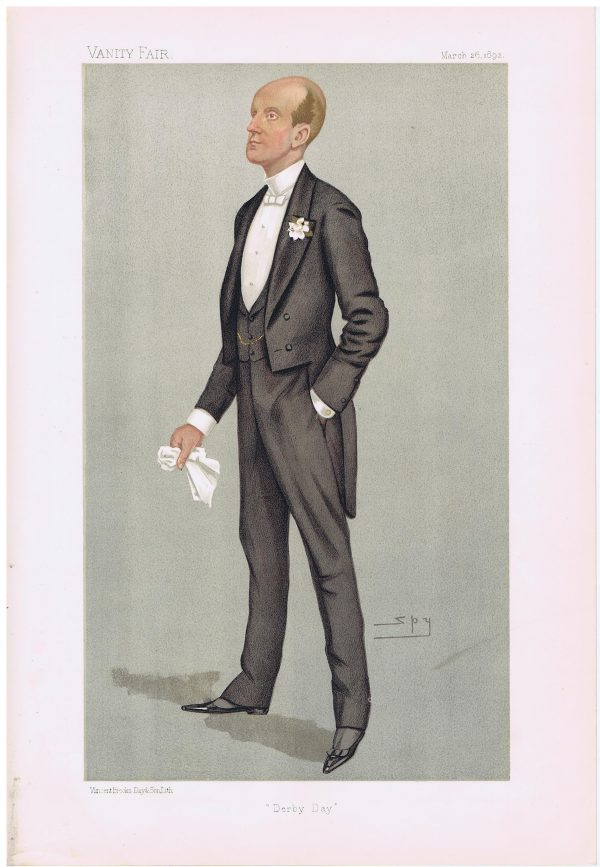 Lord Elcho Original Vanity Fair Print