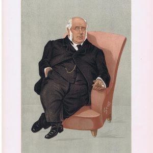 Henry Wiggin Original Vanity Fair Print