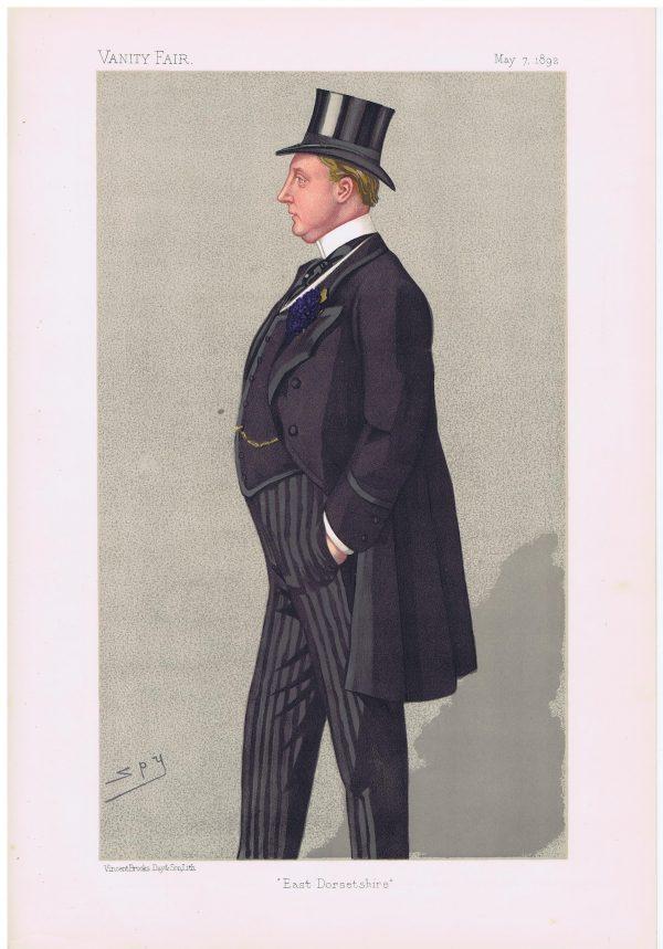 Humphrey Napier Sturt Vanity Fair Print