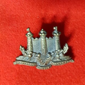 The Kings Own Scottish Borderers collar badge