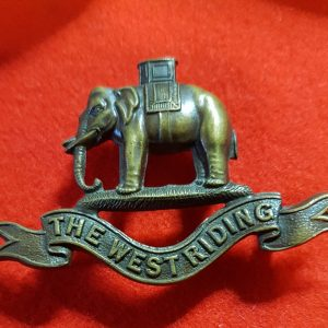 West Riding Regiment Collar Badge