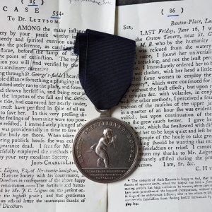 RARE ROYAL HUMANE SOCIETY MEDAL