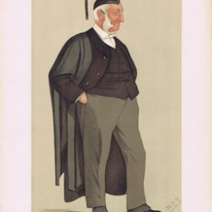 Reverend Edward Hale Vanity Fair Print
