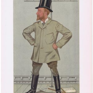 Henry Arthur Jones Vanity Fair Print