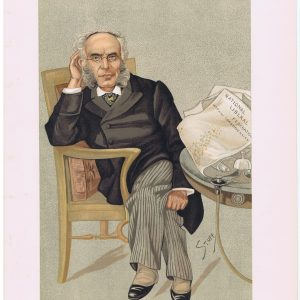 Francis Schnadhorst Vanity Fair Print