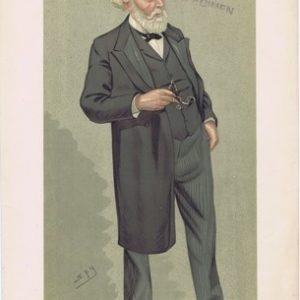 Dr. Samuel Wilks Vanity Fair Print