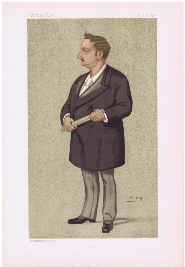 John Edward Redmond Vanity Fair Print