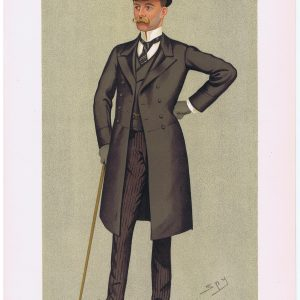 Lord Houghton Vanity Fair Print