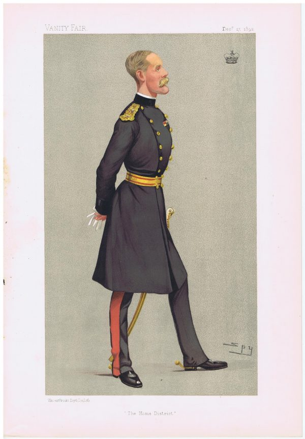 General Lord Methuen Vanity Fair Print