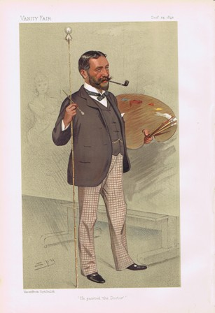 Luke Fildes Vanity Fair Print