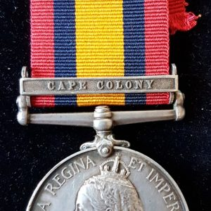 Coldstream Guards Queens South Africa Medal