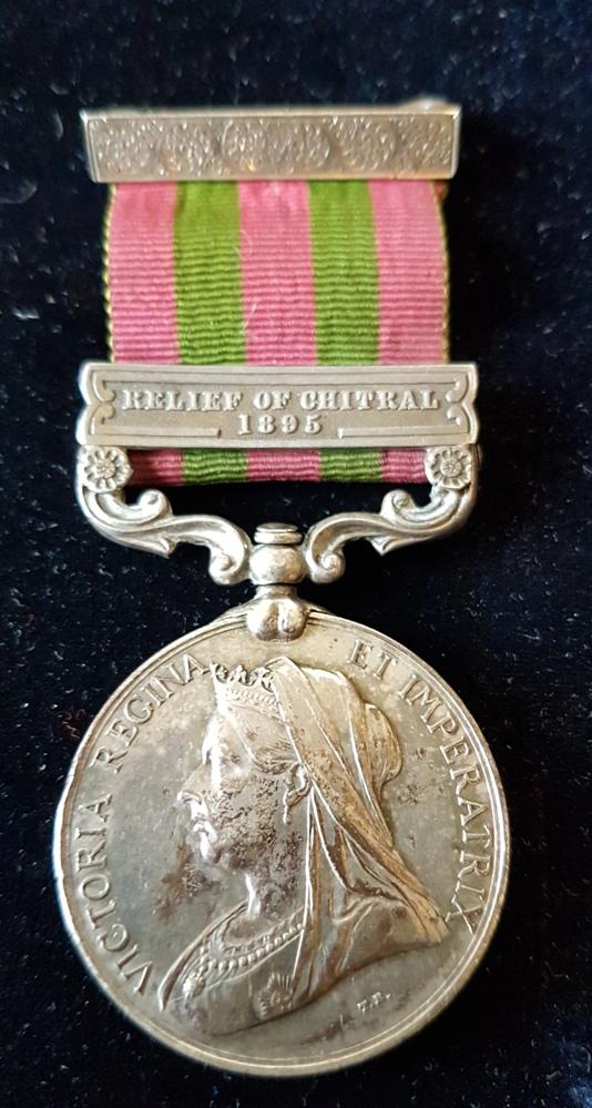East Lancashire Regiment IGS Chitral Medal