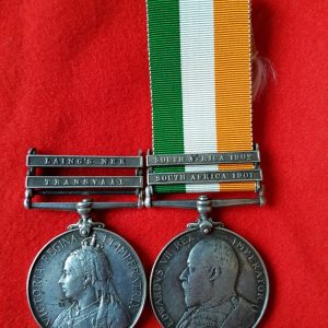 Scottish Rifles Anglo Boer War Medal Pair