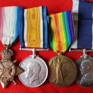 Great War Long Service Medal Group