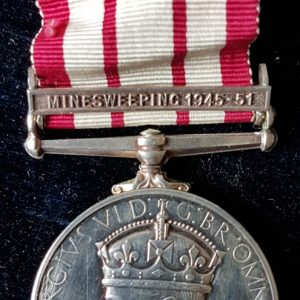 Minesweeping Naval General Service Medal