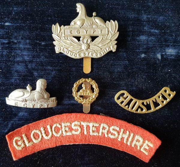 Gloucestershire Regiment Badges