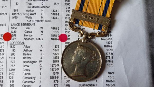 zulu medal