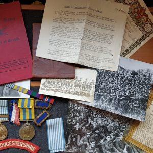 Battle of Imjin Korean War Medal Group