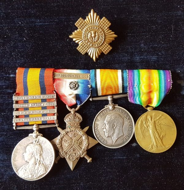 Scots Guards Drummer Medals Group