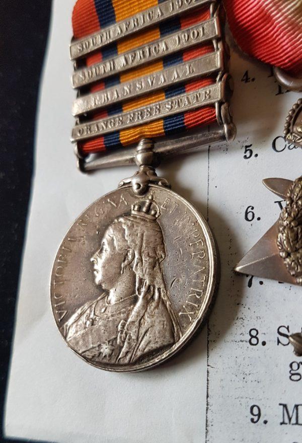 Sergeant Major Richardson, 4th Battalion, Bedfordshire Regiment