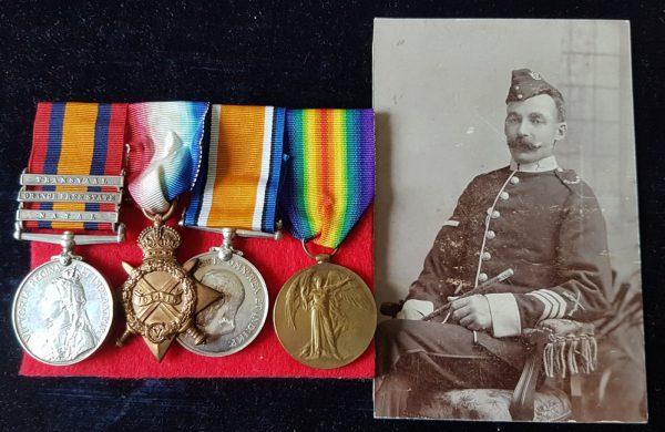 Gloucester Regiment POW Medal Group