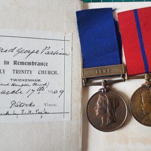 Metropolitan Police Medal Pair
