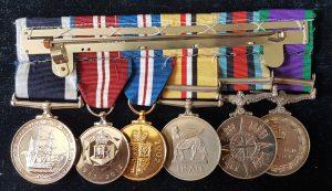 Royal Marine Sergeant Long Service Medal Group