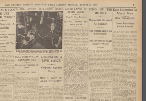 The Western Morning News 1936
