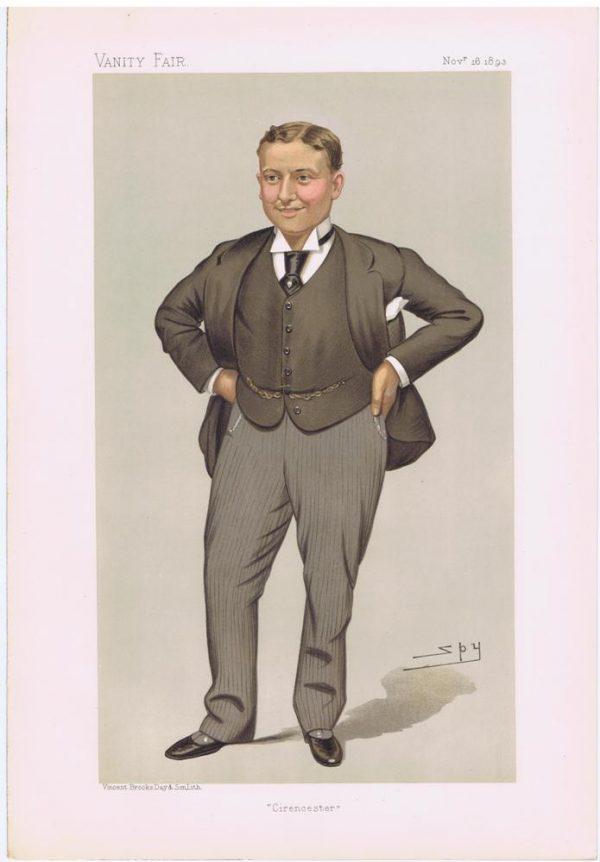 Harry Lawson Webster Lawson Vanity Fair Print
